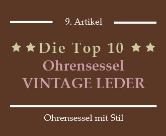 10 Vintage Ohrensessel Kunstleder Echt Leder Bezahlbar