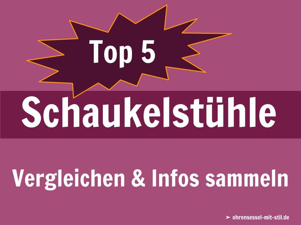 Günstige Schaukelstuhl Bestseller Top 5
