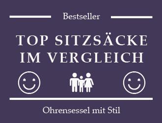 Sitzsack Bestseller & Top Sitzsäcke im Vergleich