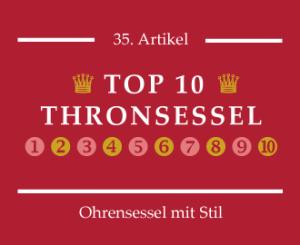Thronsessel Top 10 Bestseller Liste bei ohrensessel-mit-stil.de