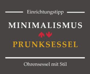 Prunksessel Thronsessel und Minimalismus ein Widerspruch?