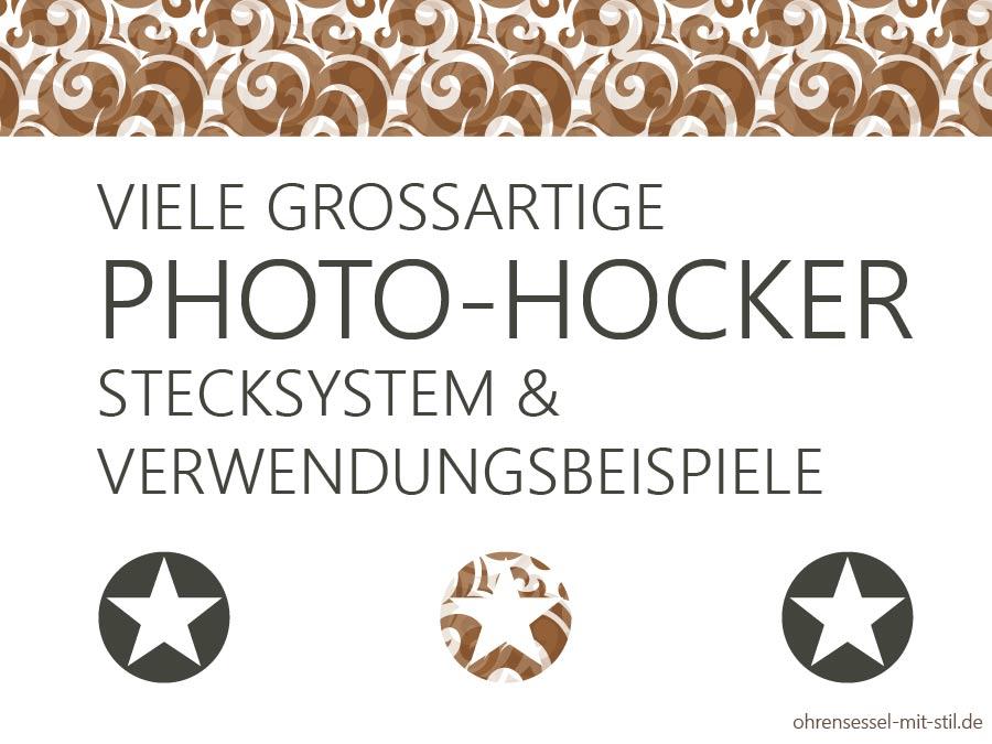Photohocker kaufen von Werkhaus