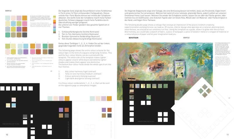 Einrichten in Farbe: Die Schablone im Buch
