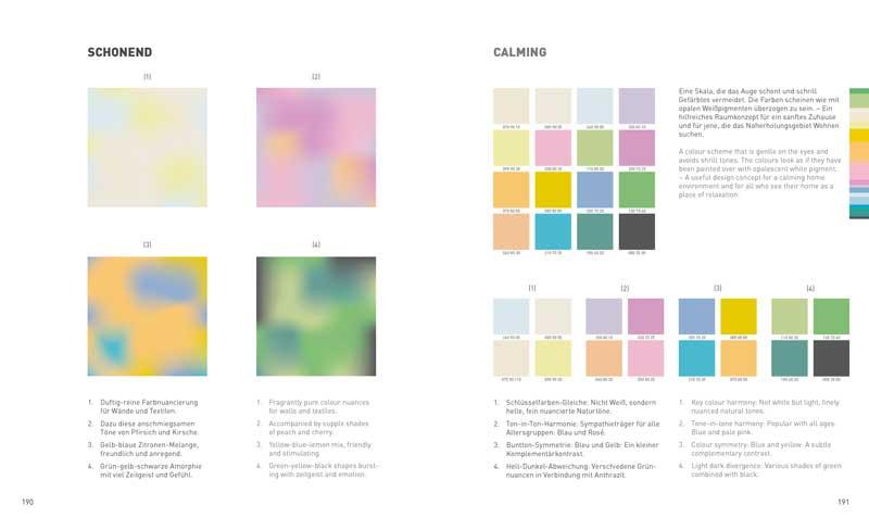 Die richtigen Einrichtungsfarben finden. Farbzusammnestellungen helfen!